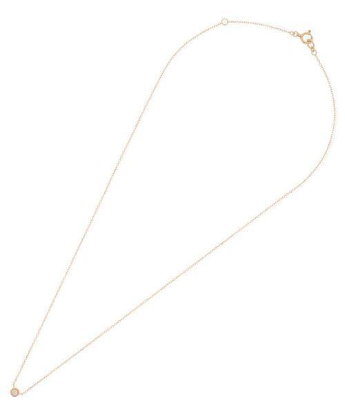 COCOSHNIK / ココシュニック ネックレス・ペンダント・チョーカー | ダイヤモンド ベゼルセット ネックレス | 詳細1