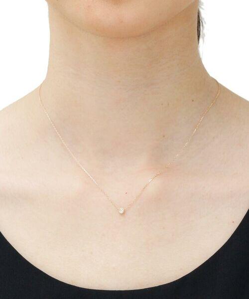 COCOSHNIK / ココシュニック ネックレス・ペンダント・チョーカー | ダイヤモンド ベゼルセット ネックレス | 詳細4