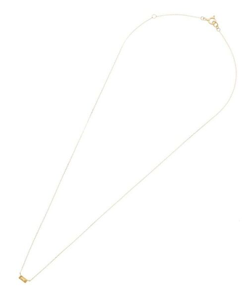 COCOSHNIK / ココシュニック ネックレス・ペンダント・チョーカー   バースデーストーン(シトリン11月)バケットカット ネックレス   詳細1
