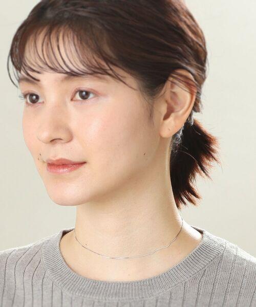 COCOSHNIK / ココシュニック ネックレス・ペンダント・チョーカー | コンパクトチェーン チョーカー(WG) | 詳細5