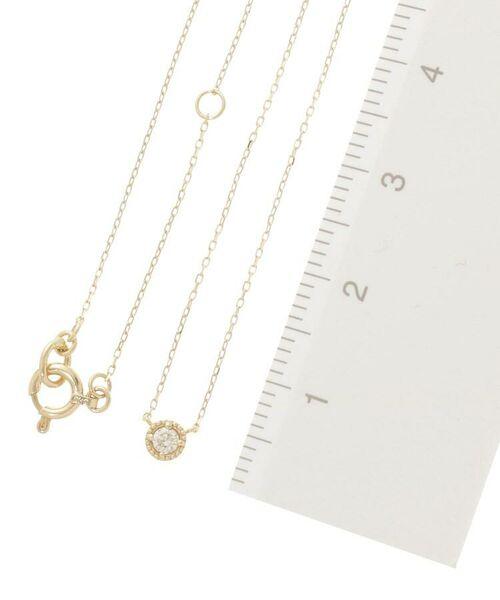 COCOSHNIK / ココシュニック ネックレス・ペンダント・チョーカー | ダイヤモンド フチミル ネックレス | 詳細2