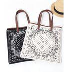 【WEB限定】【Market】バンダナパターントートバッグ