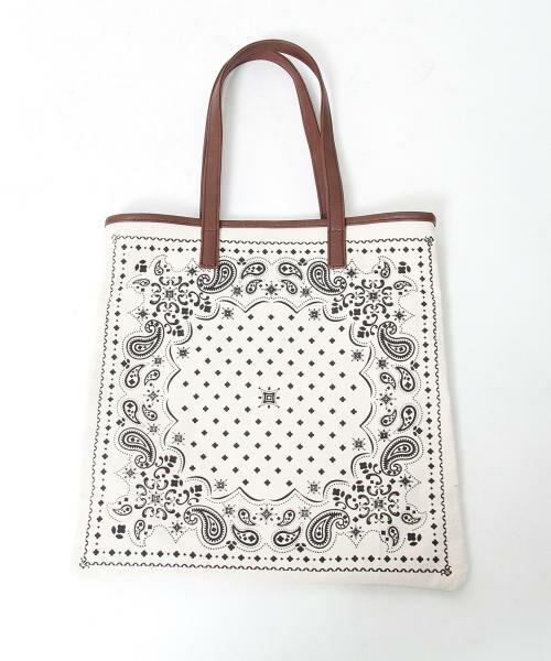 coen / コーエン トートバッグ | 【WEB限定】【Market】バンダナパターントートバッグ | 詳細1