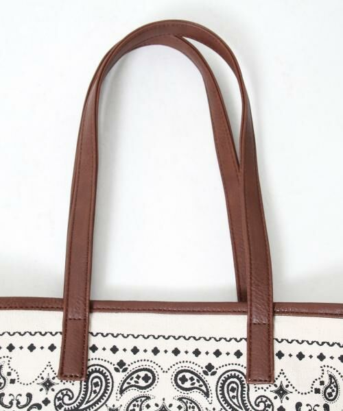 coen / コーエン トートバッグ | 【WEB限定】【Market】バンダナパターントートバッグ | 詳細2