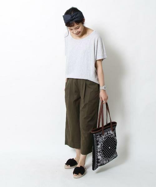coen / コーエン トートバッグ | 【WEB限定】【Market】バンダナパターントートバッグ | 詳細10