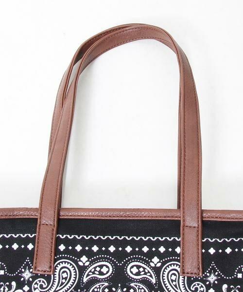 coen / コーエン トートバッグ | 【WEB限定】【Market】バンダナパターントートバッグ | 詳細7