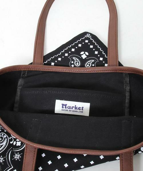 coen / コーエン トートバッグ | 【WEB限定】【Market】バンダナパターントートバッグ | 詳細9