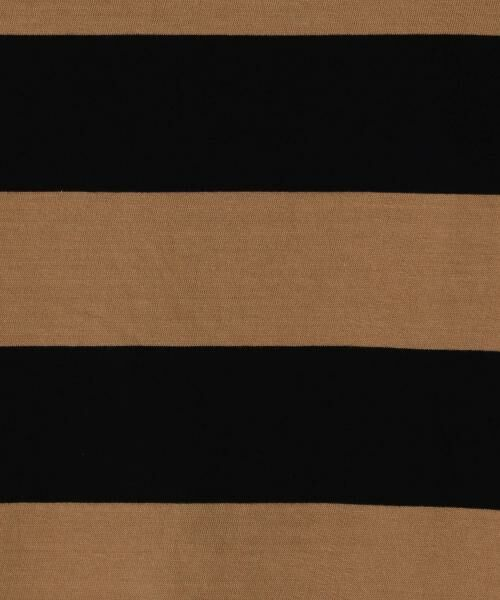 coen / コーエン カットソー | 【新色:ベージュ/ネイビー登場・大人気・復刻】ワイドボーダーボートネックカットソー(ブラック、ライトブルー⇒WEB限定カラー | 詳細20