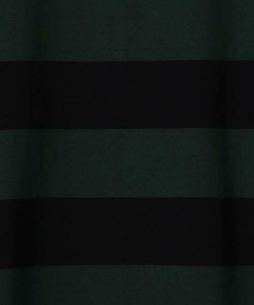 coen / コーエン カットソー | 【新色:ベージュ/ネイビー登場・大人気・復刻】ワイドボーダーボートネックカットソー(ブラック、ライトブルー⇒WEB限定カラー | 詳細24