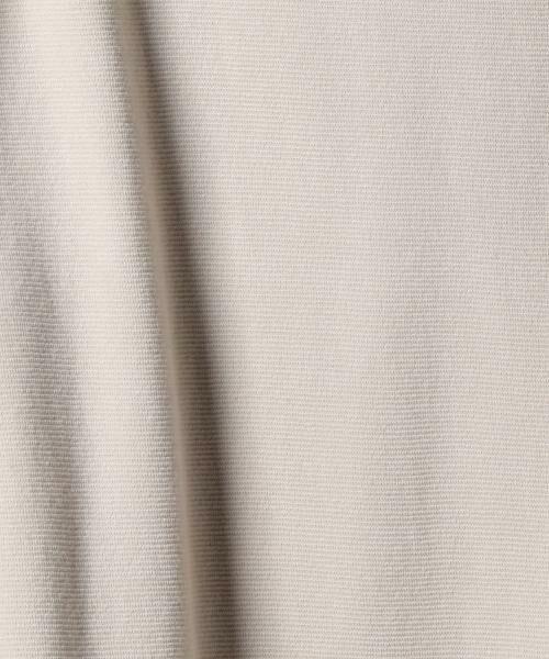 coen / コーエン カットソー | ストレッチフライスVネックカットソー(ブラック ⇒ WEB限定カラー) | 詳細8