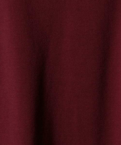 coen / コーエン カットソー | ストレッチフライスVネックカットソー(ブラック ⇒ WEB限定カラー) | 詳細15