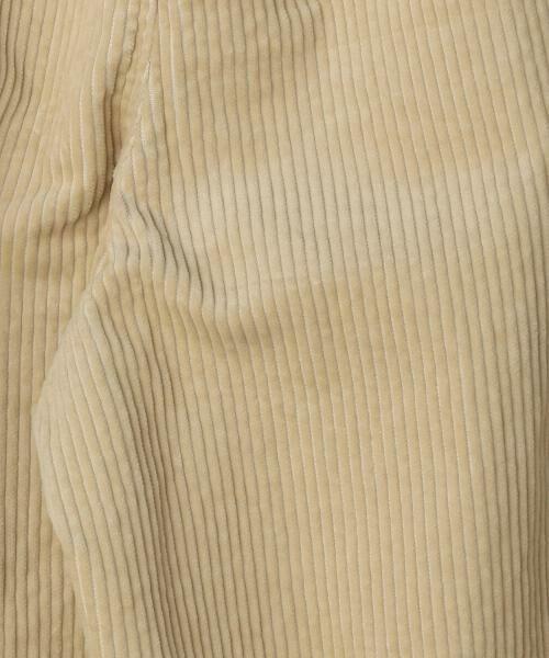 coen / コーエン その他パンツ | 【10/20「ヒルナンデス!」放映・『VERY』10月号掲載・『LEE』11月号掲載】コーデュロイワイドパンツ | 詳細3