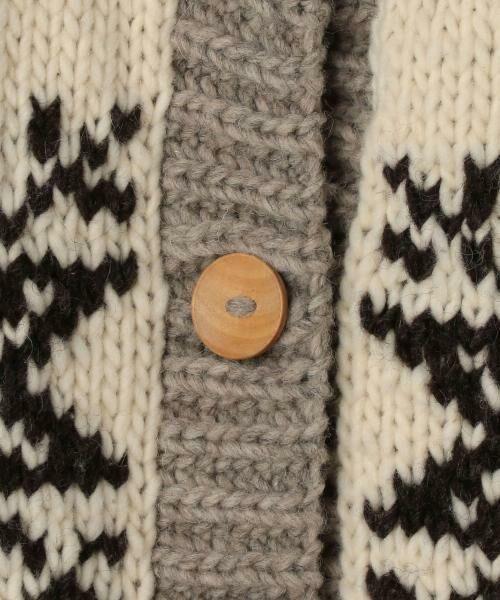 coen / コーエン ニット・セーター | ハンドニットロングカーディガン | 詳細5