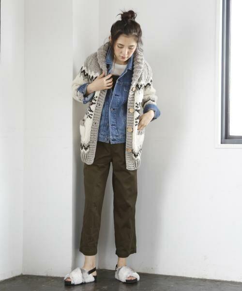 coen / コーエン ニット・セーター | ハンドニットロングカーディガン | 詳細9