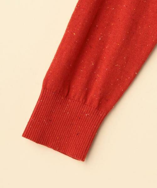 coen / コーエン ニット・セーター | カラーネップ袖フリルニット | 詳細3