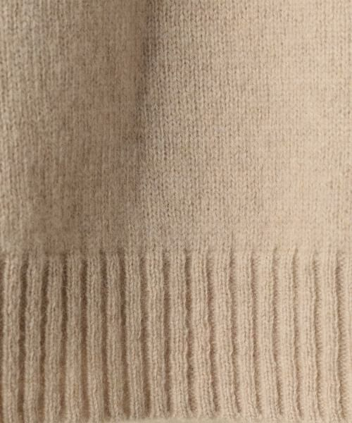 coen / コーエン ニット・セーター | 【『LEE』『リンネル』2017/11月号掲載・手洗いできる】ラムウールクルーネックニット | 詳細2