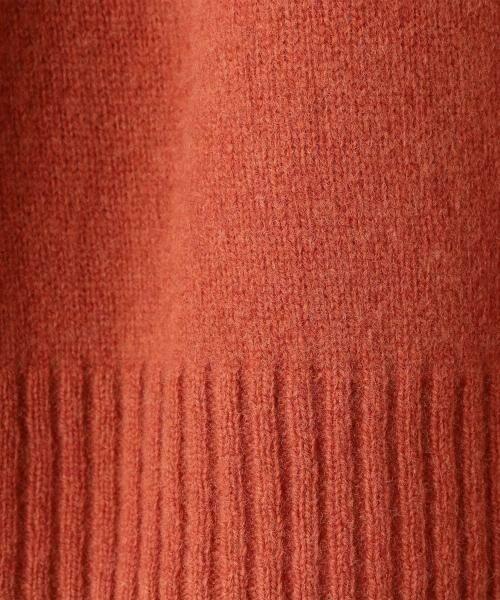coen / コーエン ニット・セーター | 【『LEE』『リンネル』2017/11月号掲載・手洗いできる】ラムウールクルーネックニット | 詳細6