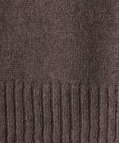 coen / コーエン ニット・セーター | 【『LEE』『リンネル』2017/11月号掲載・手洗いできる】ラムウールクルーネックニット | 詳細21