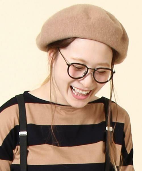 coen / コーエン ハンチング・キャスケット・ベレー帽   【『リンネル』2017/11月号掲載】ウールベレー(MOCA)