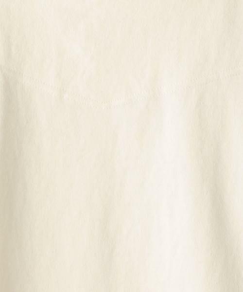 coen / コーエン カットソー | ボートネック肩ボタンソリッドカットソー | 詳細4