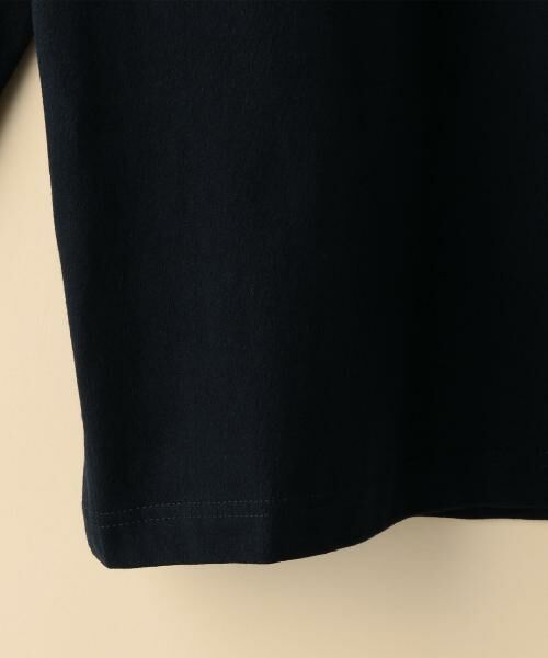 coen / コーエン カットソー | ボートネック肩ボタンソリッドカットソー | 詳細13
