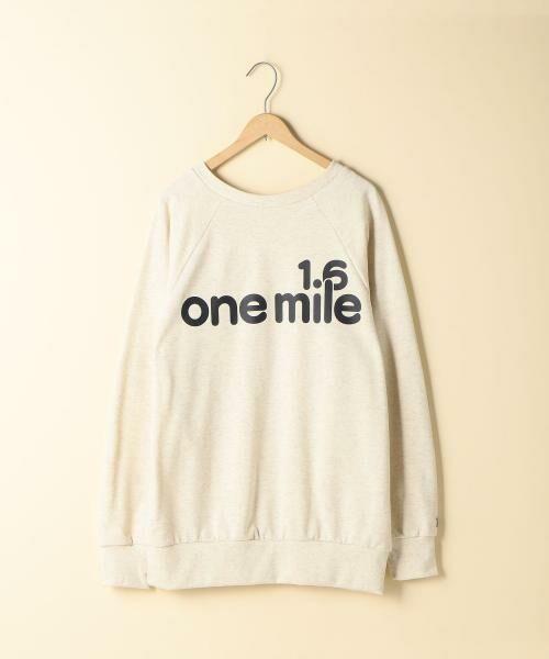coen / コーエン スウェット | 【1M】ビッグロゴプリントスウェット(OFF WHITE)