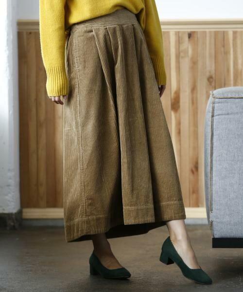 coen / コーエン ロング・マキシ丈スカート | コーデュロイボリュームロングスカート | 詳細1