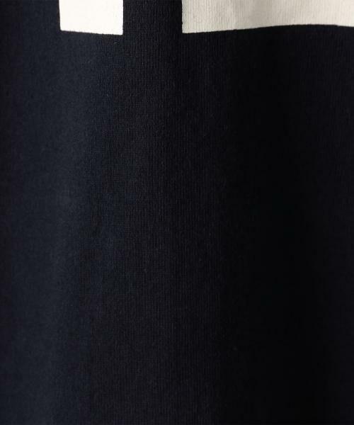 coen / コーエン ミニ丈・ひざ丈ワンピース | フットボール7分袖Vネックワンピース | 詳細5