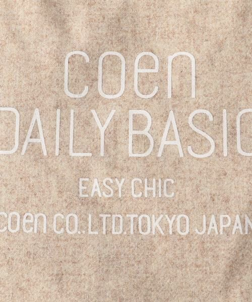 coen / コーエン トートバッグ | DAILY 2WAYウォームトートバッグ | 詳細7