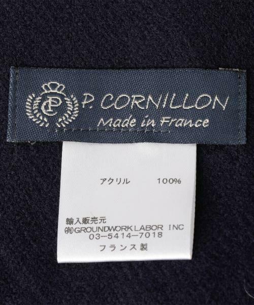 coen / コーエン マフラー・ショール・スヌード・ストール   MC P.CORNILLON (ピー コルニヨン&サイ) チェックストール(マフラー)   詳細4