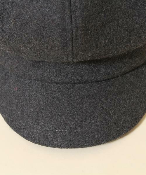 coen / コーエン ハンチング・キャスケット・ベレー帽 | メルトンキャスケット | 詳細6