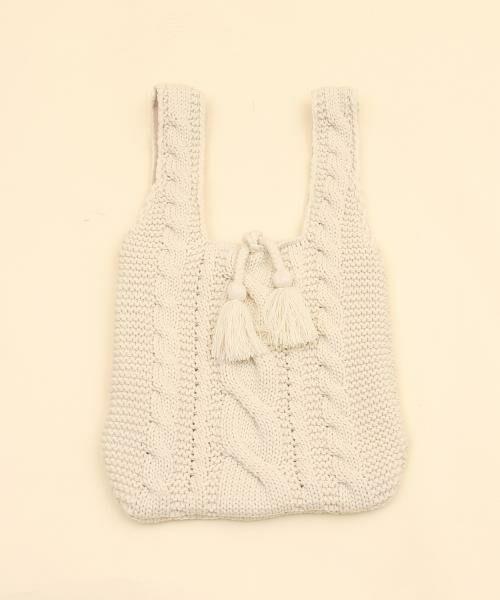 coen / コーエン トートバッグ   【Market】ニットマルシェトートバッグ   詳細1