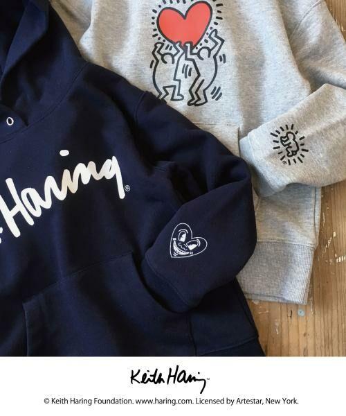 Keith Haring(キースヘリング)のパーカーが登場!