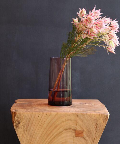 collex / コレックス インテリア・インテリア雑貨 | 【Hubsch/ヒュプシュ】 グラスベース φ7×16cm(ピンク)