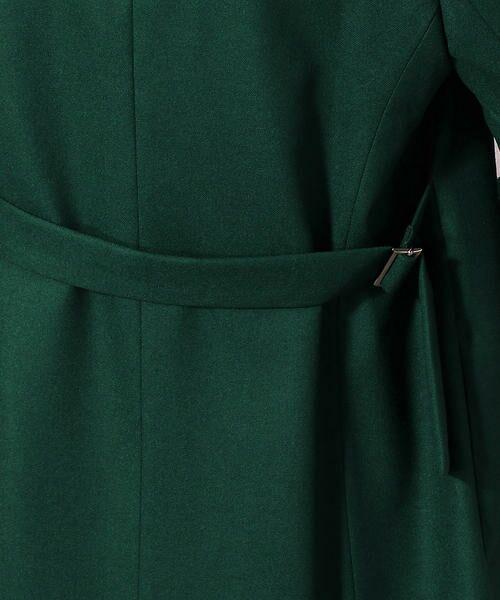 COMME CA / コムサ テーラードジャケット | ストレッチフラノテーラードロングジャケット | 詳細8