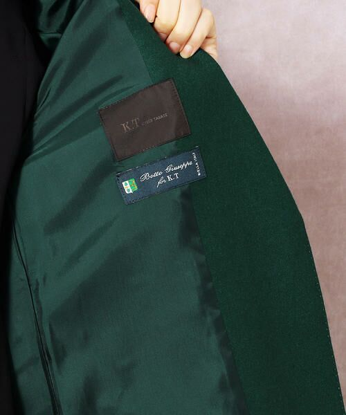 COMME CA / コムサ テーラードジャケット | ストレッチフラノテーラードロングジャケット | 詳細9