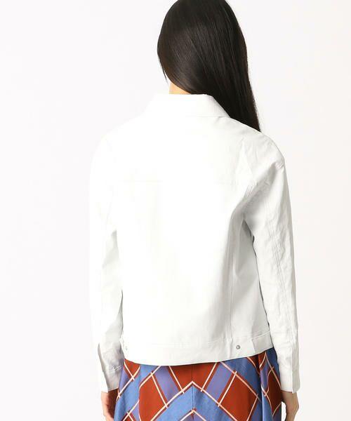 COMME CA / コムサ テーラードジャケット | 2WAY リネンシャツジャケット | 詳細3