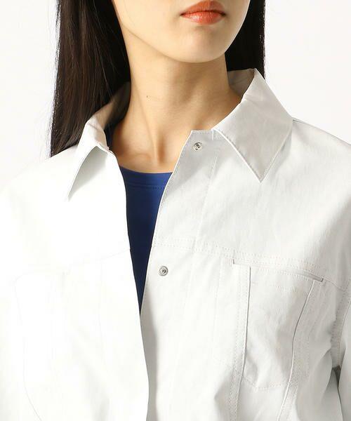 COMME CA / コムサ テーラードジャケット | 2WAY リネンシャツジャケット | 詳細5