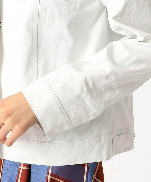 COMME CA / コムサ テーラードジャケット | 2WAY リネンシャツジャケット | 詳細6