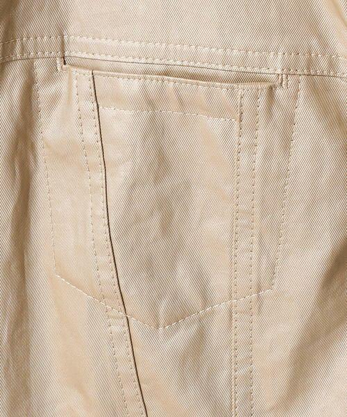 COMME CA / コムサ テーラードジャケット | 2WAY リネンシャツジャケット | 詳細10