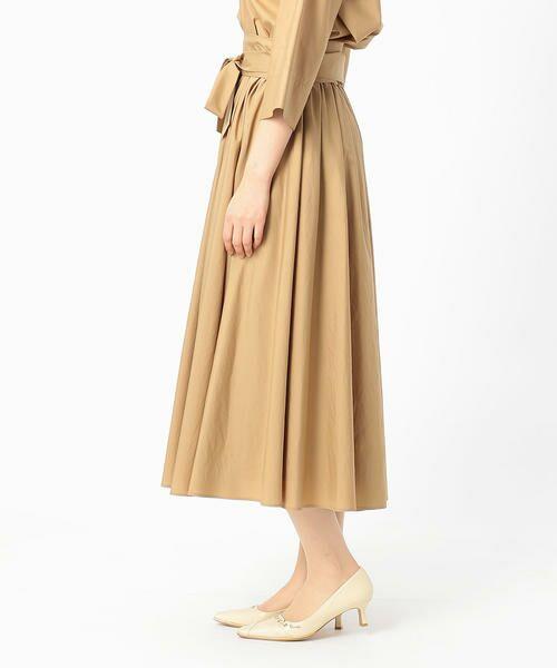 COMME CA / コムサ ロング・マキシ丈ワンピース | ギャザーフレアスカート | 詳細2