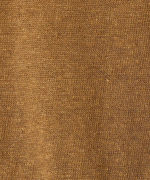 COMME CA / コムサ ニット・セーター | ドルマン風ドロップショルダーリネンニット | 詳細2