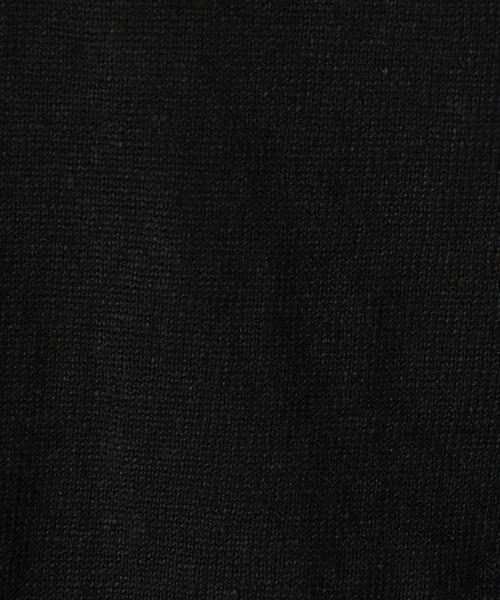 COMME CA / コムサ ニット・セーター | ドルマン風ドロップショルダーリネンニット | 詳細3