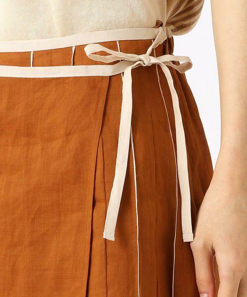 COMME CA / コムサ ミニ・ひざ丈スカート   ラミー デザインスカート   詳細6