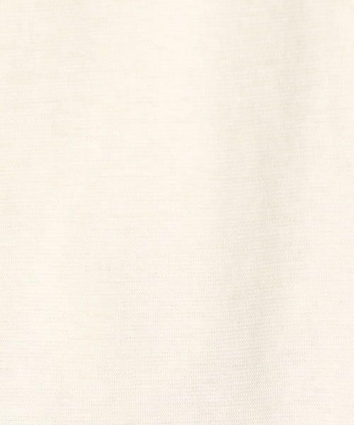 COMME CA / コムサ Tシャツ | ハイツイスト天竺 Tシャツ | 詳細2