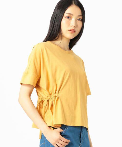COMME CA / コムサ Tシャツ | ハイツイスト天竺 Tシャツ(イエロー)