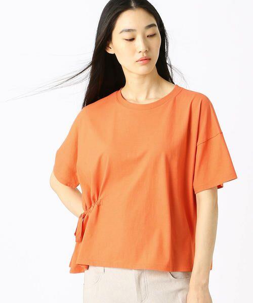 COMME CA / コムサ Tシャツ | ハイツイスト天竺 Tシャツ | 詳細5