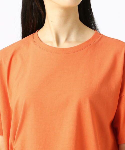 COMME CA / コムサ Tシャツ | ハイツイスト天竺 Tシャツ | 詳細8