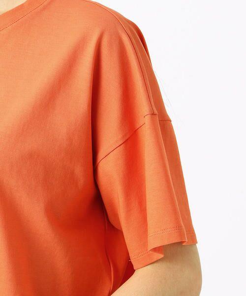 COMME CA / コムサ Tシャツ | ハイツイスト天竺 Tシャツ | 詳細9