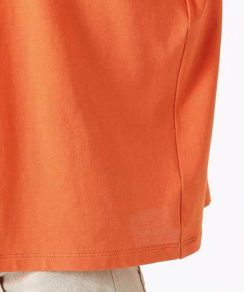 COMME CA / コムサ Tシャツ | ハイツイスト天竺 Tシャツ | 詳細11